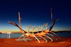 Reykjavik, Iceland (leo_li's Photography) Tags: sculpture art 레이캬비크 아이슬란드 レイキャヴィーク アイスランド reykjavik reykjavík ísland 冰岛 冰島 雷克雅未克 iceland