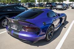 Nice Spec (Hunter J. G. Frim Photography) Tags: supercar dallas texas srt viper gts purple v10 american manual srtviper srtvipergts