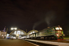 Lviv 2M62 (akifumiふぐ) Tags: train locomotive railway lviv ukraine