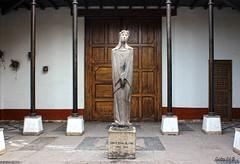 La rosa limeña (Gaby Fil Φ) Tags: santarosadelima lima cercadodelima religión santosperuanos esculturas perú sudamérica imaginería cultos