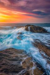 East Coast Light Flow (Darren White Photography) Tags: sunrise maine eastcoast landscapes sigmalens sigma24105art travelphotography landscapesofmaine darrenwhite darrenwhitephotography