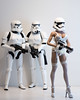 """""""I Think the New Gear Still Needs Some Work"""" (edwicks_toybox) Tags: 16scale hotplus maythefourthbewithyou tbleague corset femaleactionfigure highheels hottoys phicen seamlessbody starwars stockings stormtrooper"""