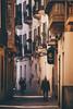 Mornings in Palma (freyavev) Tags: palma palmademallorca mallorca spain espana vsco narrowstreet street streetphotography man dog bike vertical portrait telelens urban urbandetails canon canon700d