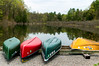 canoes waiting to be used (Dave_Bradley) Tags: boats outdoorphotography outdoor nature water lake canoe color landscape pennsylvania scenic