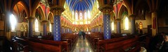Lady of Fatima's Basilic Pano (Yalila Guiselle) Tags: ladyoffatima basilic basilica church cajica colombia
