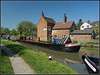 Southern Cross, Crooked Cottage (Jason 87030) Tags: southerncross workboat narrowboat scene cut canal dimmock boat julesfuels may 2018 braunston crt grandunioncanal crookedcottage lock 2 towpath sony ilce alpha a6000 lens tag reflection northants northamptonshire sunny craft england