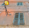 lamp (poludziber1) Tags: street streetphotography summer city colorful cityscape color osimo marche travel urban italia italy light lamp window