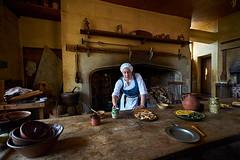 Kitchen Maid in Tudor Times (s andrews) Tags: tudor maid kitchen history servant