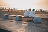 Golden Hour   Qurum Beach (dogslobber) Tags: yellow oman middle east omani arabia arab arabian peninsula muscat golden hour beach life urban
