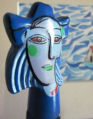 Flakon Paloma Picasso (hussi48) Tags: macromondays readyfortheday picasso parfüm flakon blue blau