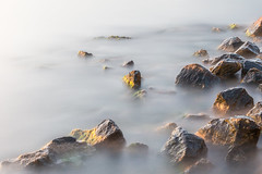 Mist (The Frustrated Photog (Anthony) ADPphotography) Tags: category erdek kapidag longexposure seascape sunset travel turkey rocks stone sea sunlight mist water evening canon1585mm canon70d canon outdoor coast coastline coastal seashore shoreline rock