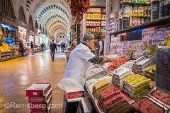 Male merchant organizing the display of Turkish delights at this market stall in Istanbul Spice bazaar in Turkey (Remsberg Photos) Tags: bazaar market souk spice istanbul turkey egyptianbazaar commerce business retail shopping exchange commodities vendor bountiful abundant merchant forsale marketplace indoor choice storefront selection products goods standing food freshness eminonuquarter fatihdistrict middleeast famousplace traveldestination consumerism economy