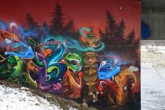 pyzer (Luna Park) Tags: munich germany graffiti isar river lunapark pyzer pyser