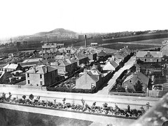 View From Morgan Academy (Dundee City Archives) Tags: mainsloan olddundeephotos morganhospital morganacademy lawhill eastpoorhouse 1868 victorian era housing forfarroad rowans