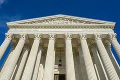 """Equal Justice Under Law"" (John Brighenti) Tags: capitol hill capitolhill washington dc washingtondc sonya7 sonyalpha sonyalpha7 a7 sony scotus supremecourt supremecourtoftheunitedstates justice law marble architecture columns sky sunshine blue white sel28f20"
