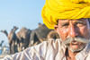 The Camel Herder (blackdiegoz) Tags: india incredibleindia indian hindu rajasthan travel streetsofindia people portraits portrait places pushkar jaipur jodhpur streetphotography culture color colours camel desert