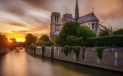 Notre Dame de Paris (photoserge.com) Tags: notre dame architecture monument long exposure water composition paris