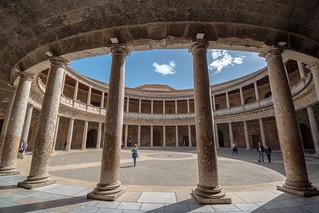 Palacio de Carlos V - Alhambra - Grenade