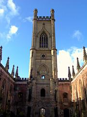 The Bombed Out Church, St Luke's, Liverpool, England (teresue) Tags: 2017 uk unitedkingdom greatbritain england merseyside liverpool stlukeschurch bombedoutchurch boldstreet ruins