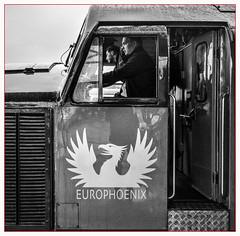 Europhoenix (Jim the Joker) Tags: 37601 perseus class37 englishelectric type3 ee europhoenix railoperationsgroup rog worcester shrubhill railwaystation train