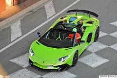 Lamborghini Aventador SV Roadster (Sellerie'Cimes) Tags: lamborghini aventador sv roadster aventadorsv aventadorsvroadster verdeithaca monaco montecarlo