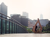 (dimitryroulland) Tags: nikon d600 85mm 18 dimitryroulland kuala lumpur asia travel trip natural light flexible people flexibility dance dancer yoga city urban street pointe bridge