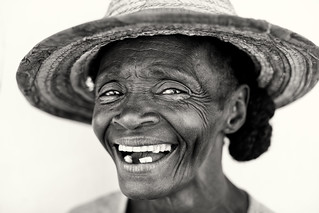 Madagascar, old lady