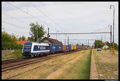 Metrans 761 006, Komárno 19-08-2017 (Henk Zwoferink) Tags: komárno nitra slowakije sk henk zwoferink metrans siemens eurorunner 761 006