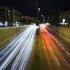 Busy streets (Dan_Fr) Tags: stuttgart germany europe citystreets city lighttrails cars headlight intersection busy modern road avenue overpass rushhour streetlights headlights long exposure night longexposure sony a7r