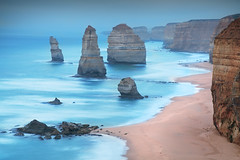Apostle's Mood || GREAT OCEAN ROAD || AUSTRALIA (rhyspope) Tags: australia aussie nsw vic victoria 12 apostles coast coastal limestone stack stacks weather blue mood long le exposure rhys pope rhyspope canon 5d mkii sea ocean view vantage vista explore roadtrip travel amazing cliffs