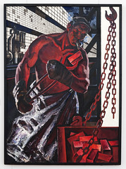 Worker (Robin Geys) Tags: belarus sigma2470mmf28exdghsm nikon d90 national gallery minsk mai dantsig