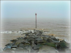 Sea Mist .. (** Janets Photos **) Tags: uk eastyorkshire beaches seamist seafret withernsea