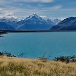Lake  Pukaki with view to Mt. Cook thumbnail