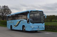 KP51 UER: Harrison t/a Central Travel, Sheffield (chucklebuster) Tags: kp51uer harrison central travel dennis r paragon plaxton lex transfleet mayne buckie mikro coaches