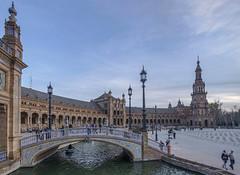 PLAZA DE ESPAÑA. SEVILLA (AITANA64) Tags: flickraward flickrawardgallery flickrestrellas flickr sevilla