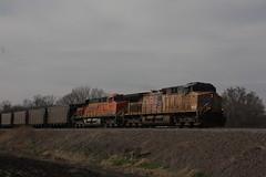 57222 (richiekennedy56) Tags: unionpacific bnsf ac44cw es44ac up5933 bnsf5978 jeffersoncountyks kansas perry railphotos unitedstates usa