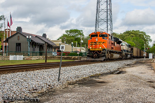 BNSF 8421 | EMD SD70ACe | NS Memphis District West End