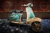 lambretta (teedee.) Tags: lambretta scooter motorcycle rust layer ice cobbles belfast old vintage