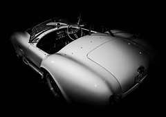 COBRA (Dave GRR) Tags: car automobile sports toronto auto show 2018 monochrome chrome mono bw olympus