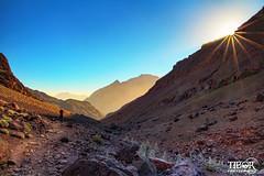 Sun rising above the Atlas mountains (morbidtibor) Tags: africa northafrica morocco desert atlas atlasmountains toubkal trekking hiking sun sunrise
