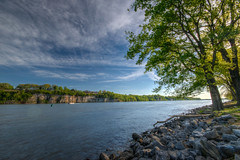 The Tennessee River (ap0013) Tags: tennessee river florence alabama tennesseeriver florencealabama water landscape cloud nature al florenceal