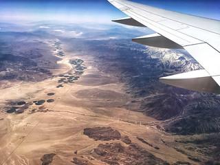 Window Seat   Delta 757-300   Looking South Towards Dyer, Nevada