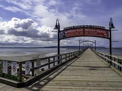 Where is everybody? (Tony Tomlin) Tags: whiterockbc britishcolumbia canada whiterockpier pier yachts boats