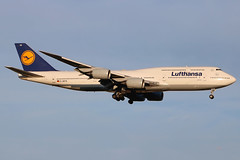 "D-ABYN | Boeing 747-830 | Lufthansa ""Niedersachsen"" (cv880m) Tags: newyork jfk kjfk kennedy boeing aviation aircraft airliner airline airplane jetliner dabyn 747 74h 7478 7478i 747830 lufthansa germany niedersachsen jumbo"