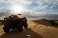 Surfing dunes (Mariano Colombotto) Tags: pinamar argentina dunes atv vehicle summer sunset sun atardecer sand arena travel nikon photographer photography sky cielo clouds ngc