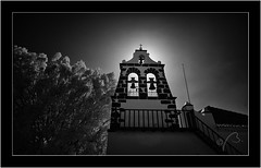 Tijarafe, La Palma, Sony A7 IR, Nikkor 18mm/3.5 (Bartonio) Tags: architecture canaryislands infrared ir islascanarias lapalma modified nikkor18mm35 tijarafe church iglesia
