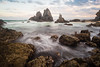 Camel Rock sunset (laurie.g.w) Tags: camelrock sunset nsw southcoast coast rocks water shoreline seascape waterscape ocean bermagui lakewallaga tokina17mm wideangle