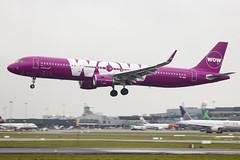 TF-WIN   WOW Air   Airbus A321-211(WL)   CN 7650   Built 2017   DUB/EIDW 12/03/2018 (Mick Planespotter) Tags: aircraft airport 2018 tfwin wow air airbus a321211wl 7650 2017 dub eidw 12032018 a321 dublinairport nik collinstown sharpenerpro3