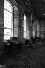 Windows and Darkness (John of Witney) Tags: window monochrome blackandwhite industrial chathamhistoricdockyard chatham kent