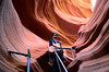 Antelope Canyon in Arizona: where the geo-physical laws culminate into spectacular artistries of nature- XXXVIII (biswarupsarkar72) Tags: antelopecanyon arizona wondersofnature natureswonders navajonation naturephotography